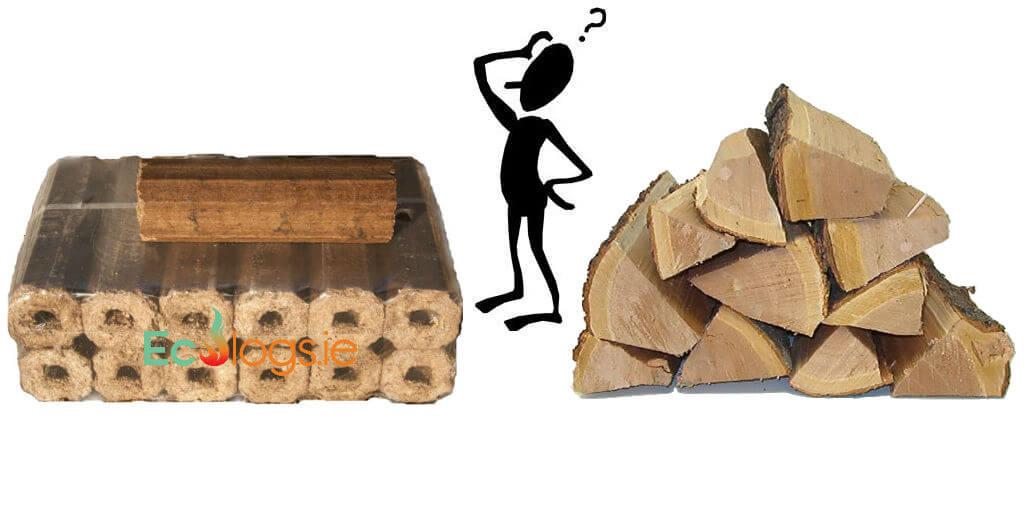 eco logs vs firewood